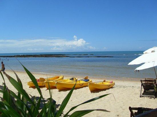 Aquarela Praia : A praia da pousada!