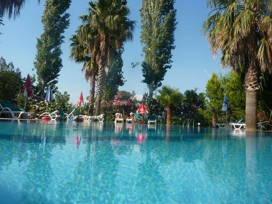 Dalyan Garden Pension: the pool!