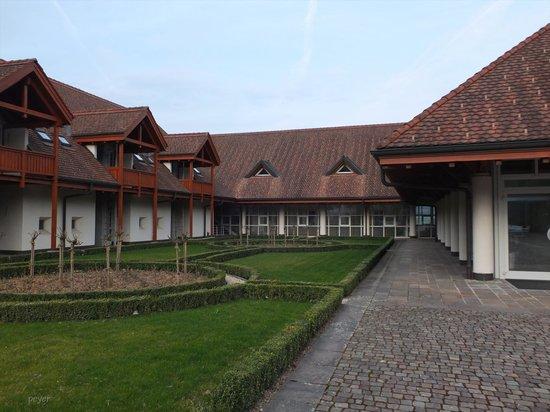 Seminar Hotel Gerzensee: Aussenansicht - Detail