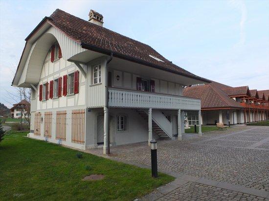 Seminar Hotel Gerzensee: Ehrwürdiger Bestandteil der Hotelanlage
