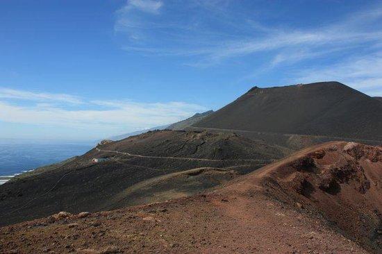 Volcán Teneguia: Rim of Volcan Teneguia