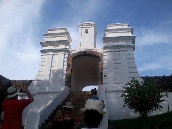 Fortaleza de Sao Jose da Ponta Grossa: Entrada