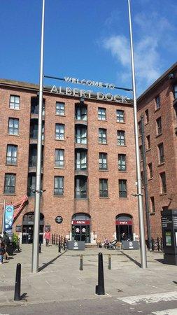 YHA Liverpool: 5 mins walkaway the Albert Dock.