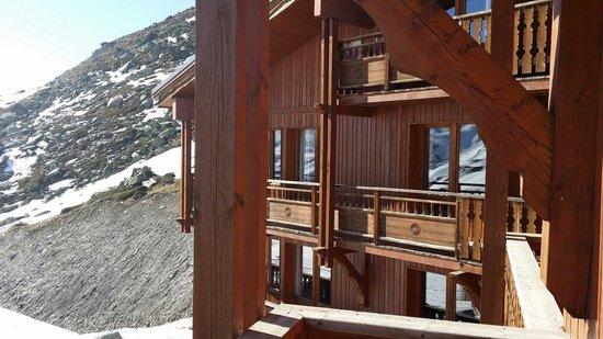 Residence Les Balcons de Val Thorens: Balcon