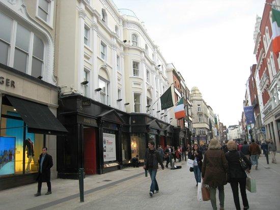 Panoramica de Grafton Street