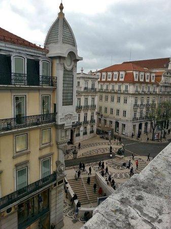 Hotel Borges Chiado : Zimmeraussicht