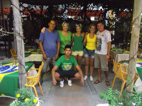 Hotel Lavagnese: Serata brasiliana!!!! Un ricordo da x sempre!!!!