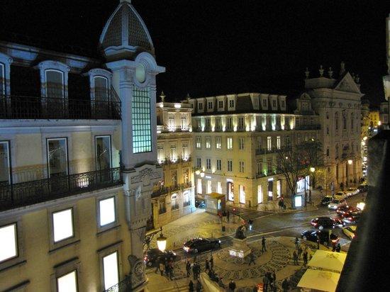 Hotel Borges Chiado : Aussicht bei Nacht