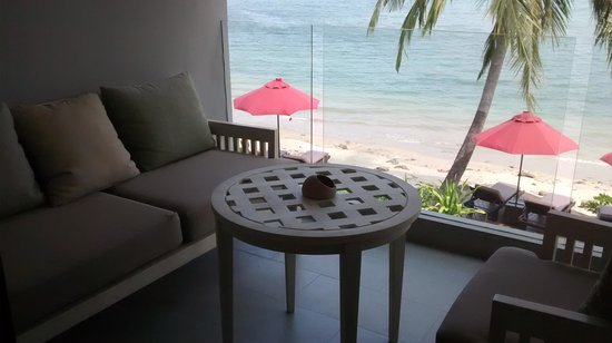 Amari Phuket: Balcony in deluxe room
