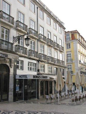 Hotel Borges Chiado : Hoteleingang