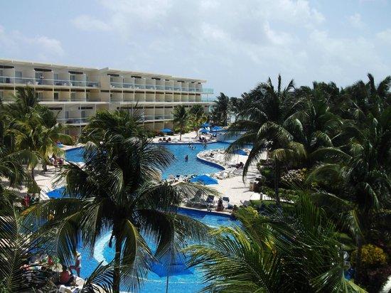 Azul Beach Resort Sensatori Mexico: view from mojito terrace