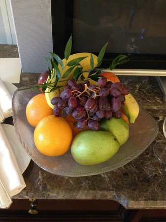Four Seasons Hotel Boston: in room amenities for our guests