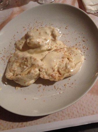 Il Ristorante di Mariano: Cappellacci con ricotta e pere e salsa al parmigiano, orgasmo per le papille gustative!!