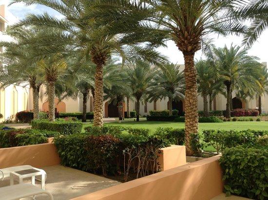 Shangri La Barr Al Jissah Resort & Spa - Al Bandar Hotel: uitzicht vanuit kamer