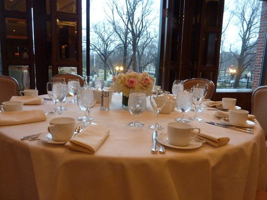 Four Seasons Hotel Boston : brunch