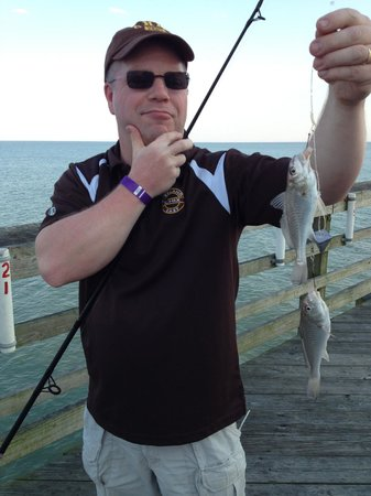 Fishing picture of cherry grove pier north myrtle beach for Myrtle beach pier fishing report
