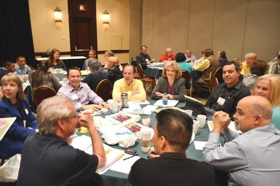 Hilton Atlanta Northeast : Attendees from Prince of Peace parish