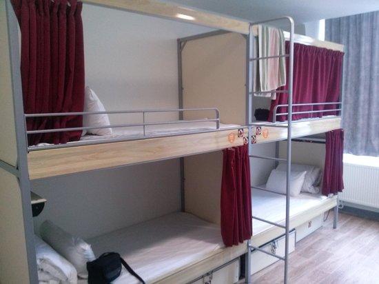 St Christopher's Gare du Nord Paris: habitacion para 4