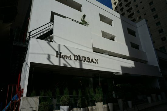 Hotel Durban : Front exterior
