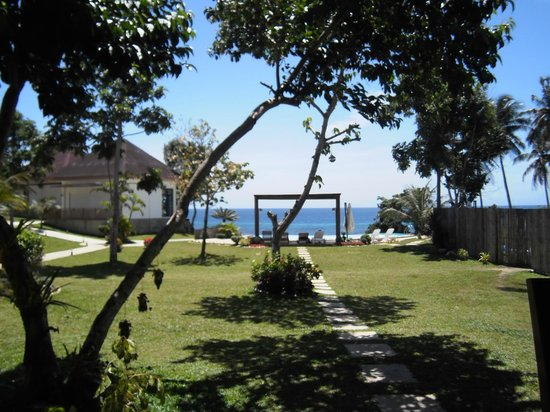 East Coast White Sand Resort & Recreation Center: view from restaurant
