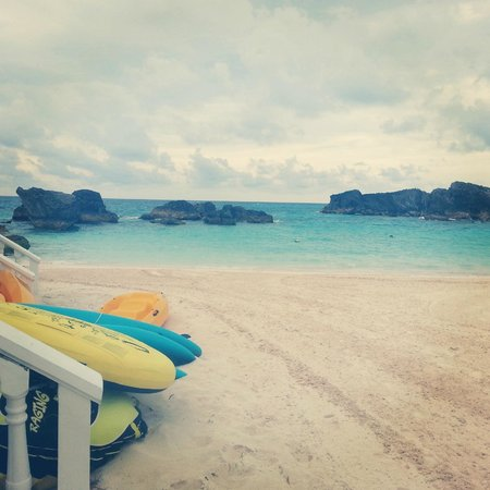 Fairmont Southampton : hotel's private beach