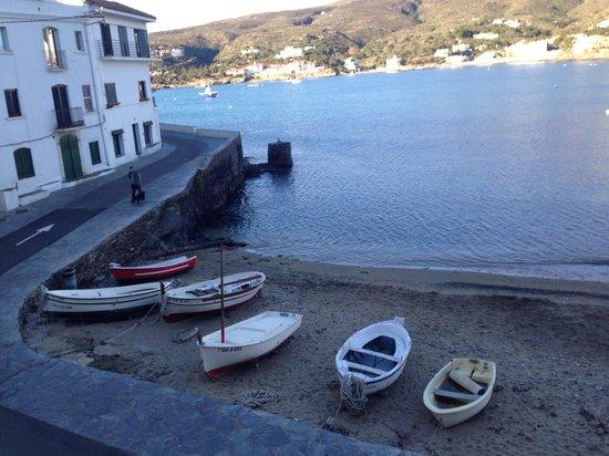 Hotel Playa Sol : Playa en la puerta del hotel