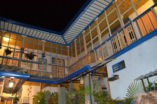 Ciudad de Segorbe Hostel Salento: Vue à l'intérieur du patio