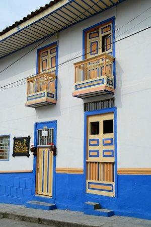 Ciudad de Segorbe Hostel Salento : Vue côté rue
