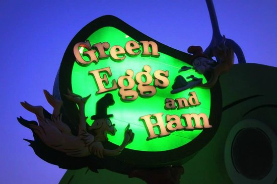 Universal's Islands of Adventure: Green Eggs and Ham