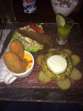 Charlie Mac's: My amazing vegetarian lunch!!