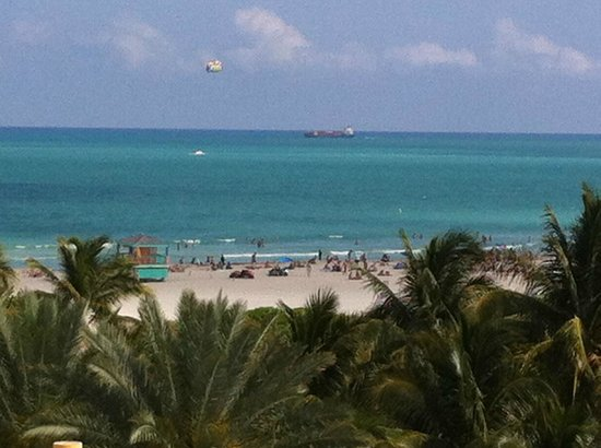 Z Ocean Hotel South Beach: view from rooftop penthouse