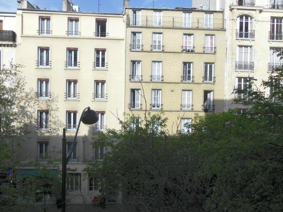 Hôtel de Venise : Вид из окна