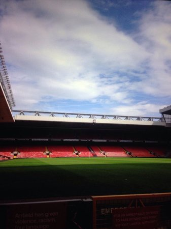 Anfield Stadium: Amazing tour for any football fan!