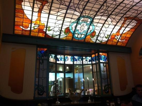 Comme Chez Soi : Parte interior del restaurant