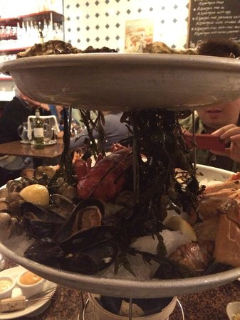 Lucius Seafood Restaurant: Platter for two