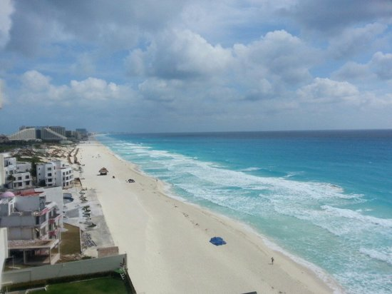 Crown Paradise Club Cancun: View from the top