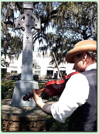 Savannah Cultural Heritage Tours and Events: Chase Anderson - Savannah Irish Tour - 2014