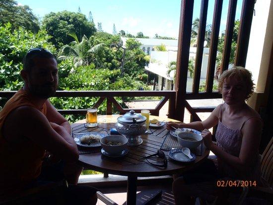 Wang Thai : terrace