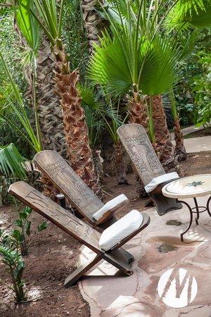 Les Jardins de la Medina : From the garden