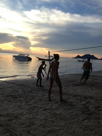 Ban's Diving Resort : volleyball on the beach