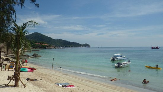 Ban's Diving Resort : view from the beach