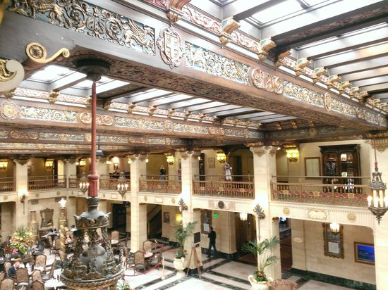 The Historic Davenport, Autograph Collection: The atrium/lobby from the 2nd floor
