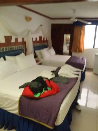 Hotel Las Golondrinas : Una foto real de la habitacion