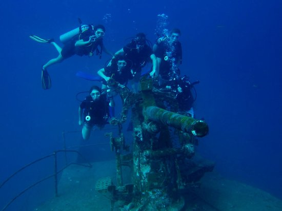 Ban's Diving Resort: wreck diving with Ban's
