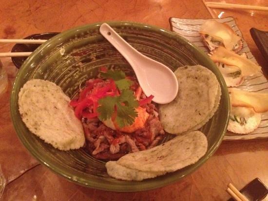 Mochi : teryaki with chipotle and taco