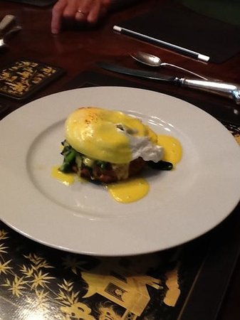 The Inn at 240: one of the breakfast choices at The Inn, delicious!