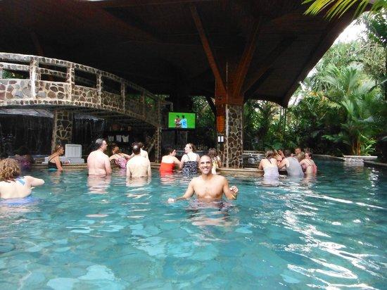 Baldi Hot Springs: One of the In Pool Bars