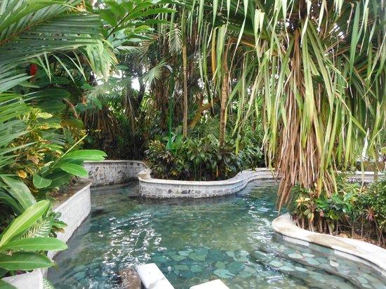 Baldi Hot Springs: small private alcoves