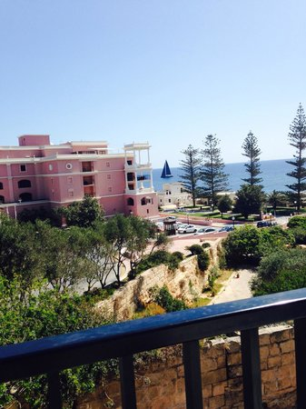 The St. George's Park Hotel: View from the pool terrace