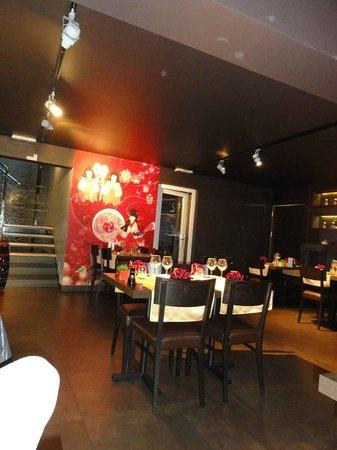 Wasabi Restaurant: Aperçu d'une des salles